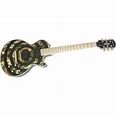 zakk wylde guitar center epiphone zakk wylde bullseye les paul custom plus electric guitar antique ivory guitar center