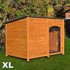 feelgooduk large kennel sloped roof wooden