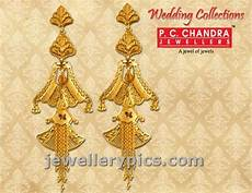 pc chandra gold earrings wedding collection latest jewellery designs