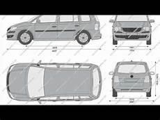 Volkswagen Touran Dimensions