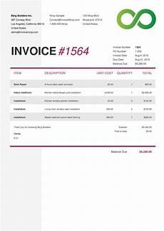 contoh invoice penagihan jasa konstruksi 8 cv templates