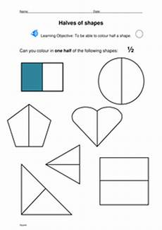 shapes in half worksheets 1140 halving shapes by stevm117 uk teaching resources tes