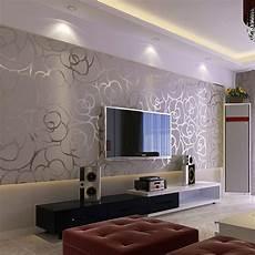 erstaunliche tapeten designs f 252 r wohnzimmer k 252 chen in