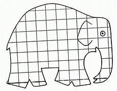 Ausmalbilder Elefant Elmar Elmar Elefant Ausmalbild Kostenlos Bogga Club