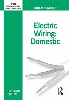 electric wiring domestic by brian scaddan world of books australia
