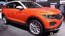 2018 Volkswagen T Roc Style Exterior And Interior