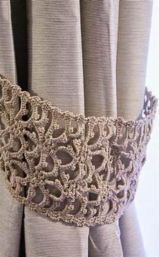 embrasse au crochet pour rideaux crotchet curtains