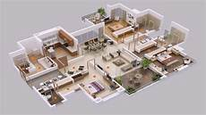 5 bedroom house plans 3d youtube