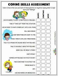 anger worksheets kids coping skills coping skills activities school social work
