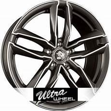 alloy wheels ultra wheels ua6 polished gunmetal n 176 3951