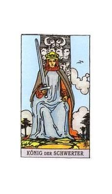 Königin Der Schwerter - tarotkarten