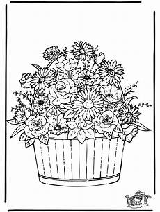 Ausmalbilder Blumen Schwer Kwiaty 3 Kwiat