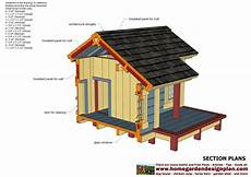 dog house plans insulated home garden plans dh303 dog house plans dog house