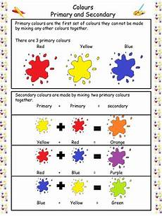 secondary colors worksheets 12813 primary and secondary colours by erica c hanson teaching resources tes