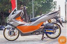Motor Pcx Modifikasi by Foto Gambar Modifikasi Unik Motor Honda Pcx Sport Racing