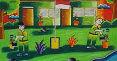 Gambar Ilustrasi Lingkungan Alam Ilustrasi Lukisan