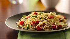 angel hair pasta with chicken recipe taste of home angel hair pasta with avocado and tomatoes recipe from betty crocker