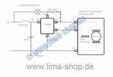lichtmaschinenregler schaltplan wiring diagram