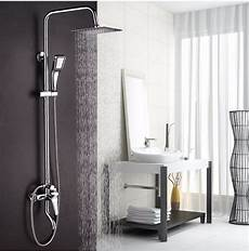 big promotion 8 inch 3 function chrome finish brass made shower faucet shower rain shower
