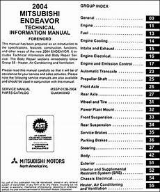 online car repair manuals free 2004 mitsubishi endeavor user handbook 2004 mitsubishi endeavor body manual original