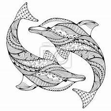 muster tiere delfin