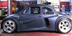 fiat 500 fitted with lamborghini v12