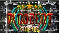 Dj Robert - logo 3d dj robert pub el rafa