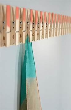 basteln mit wäscheklammern kreativer kleiderhaken basteln mit w 228 scheklammern