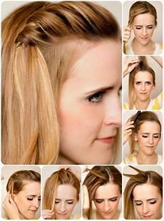 Einfache Frisuren Für Schulterlange Haare - einfache steckfrisuren f 252 r schulterlanges haar