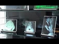 cristallight das glasbild mit beleuchtung