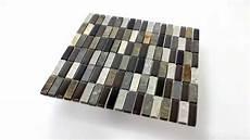 glas quarzit naturstein mosaik fliesen grau braun