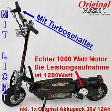 elektro scooter roller der neue mach1 1300 turbo 1000 watt e scooter