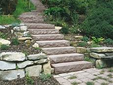 treppe selber bauen stein gartentreppe aus stein selber bauen