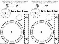 science worksheets earth sun moon 12190 space model of earth moon s orbit a4 kavramlar moon orbit earth space science earth