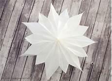 Diy Sterne Aus Butterbrotpapier Und Tapete Happy