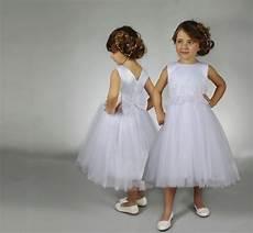 Robe Demoiselle D Honneur Enfant En Tulle Dans Notre