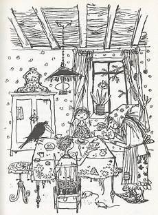 Ausmalbilder Hexenhaus Ausmalbilder Die Kleine Hexe 06 Buchzeichnung