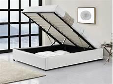 lit complet avec cadre de lit et coffre de rangement