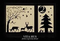 weihnachtsfenster adventsfenster selber machen