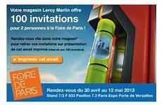 place gratuite foire de leroy merlin places gratuites foire de 2013
