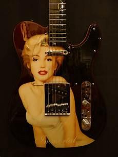 marilyn guitar fender masterbuilt pamelina immortal marilyn telecaster