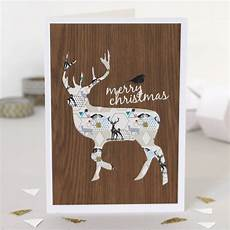 merry christmas deer card by bonjour pony notonthehighstreet com