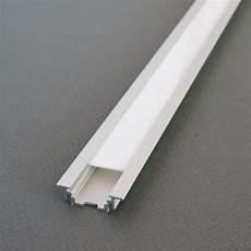 profilé led encastrable kit profil 233 s led aluminium encastrable 2m pour ruban de led