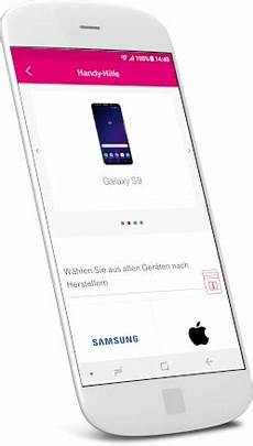 Smartphone Hilfe App Telekom Hilfe