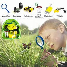 Amazon Com Set Of 6 Bug Explorer Magnifying Timy 6 In 1 Outdoor Exploration Kit For Kids Adventurer