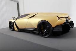 THE CAR Lamborghini Cnossus Concept Design  What Do You