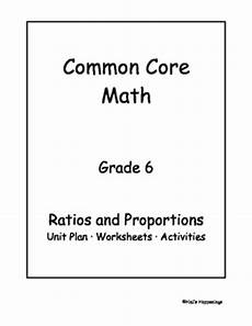 measurement and proportional reasoning worksheets 1581 6th grade common math ratios and proportional reasoning unit