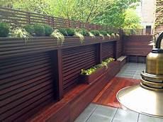 Terrasse Zaun Holz - chelsea nyc terrace wood fence deck patio privacy