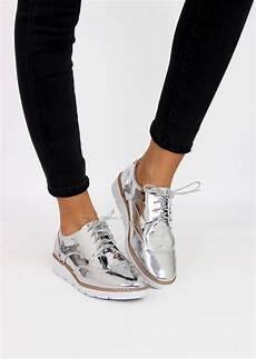 tendance chaussures 2017 derbies argent 233 s