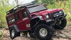 traxxas land rover traxxas trx 4 landrover defender 110 jungle trail